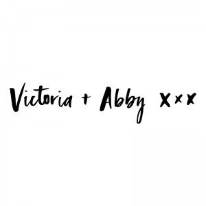 Victoria and Abby signature